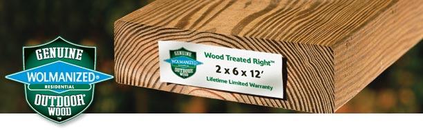Pressure Treated Lumber Leland Moore General Contractor